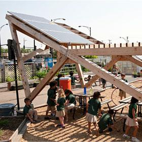 Solar Panels at AGC