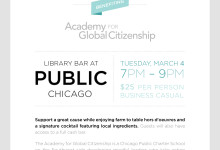 AGC | Library Social at PUBLIC