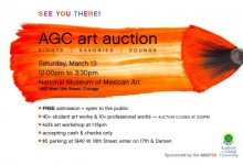 Art Auction Invite